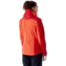 Rab Kinetic Alpine 2.0 Jacket Women red grapefruit